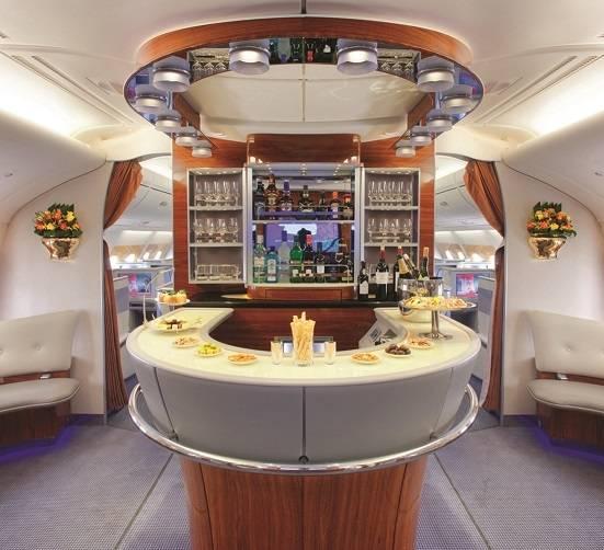 A380 Onboard Lounge