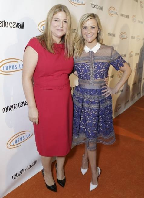 Bruna Papandrea and Reese Witherspoon