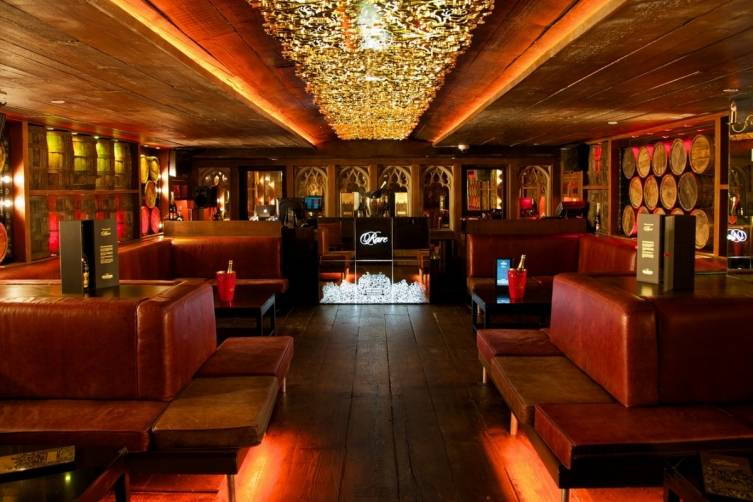 The Rusty Nail VIP lounge is all about excess