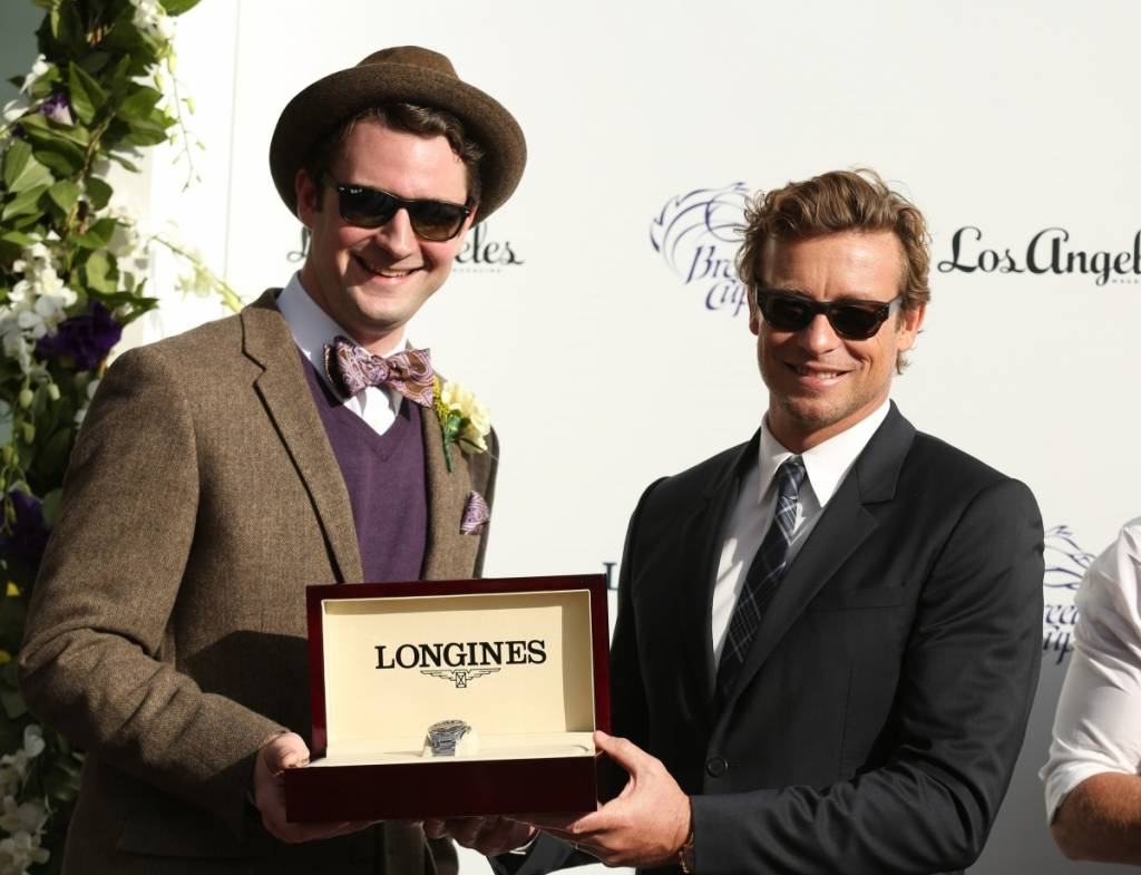 Simon Baker at the Longines presented 2014 Breeders' Cup