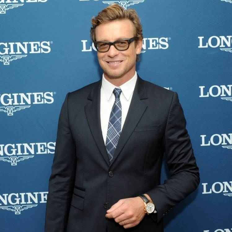 Longines Ambassador of Elegance Simon Baker at the 2014 Breeders' Cup