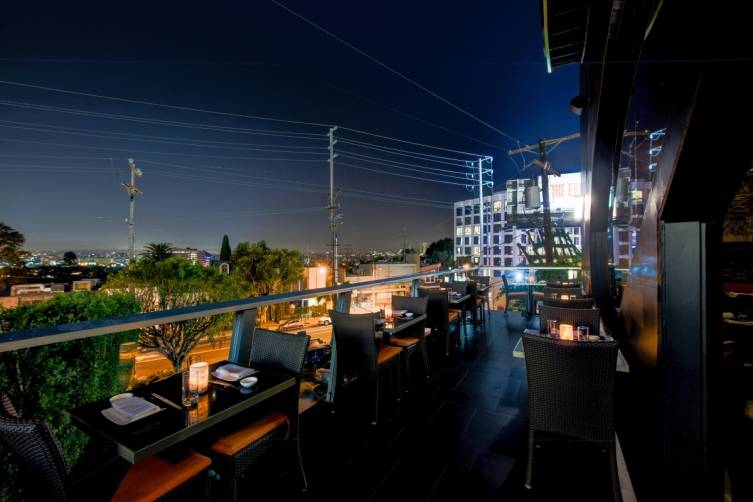 Night view at Yellowtail Sunset