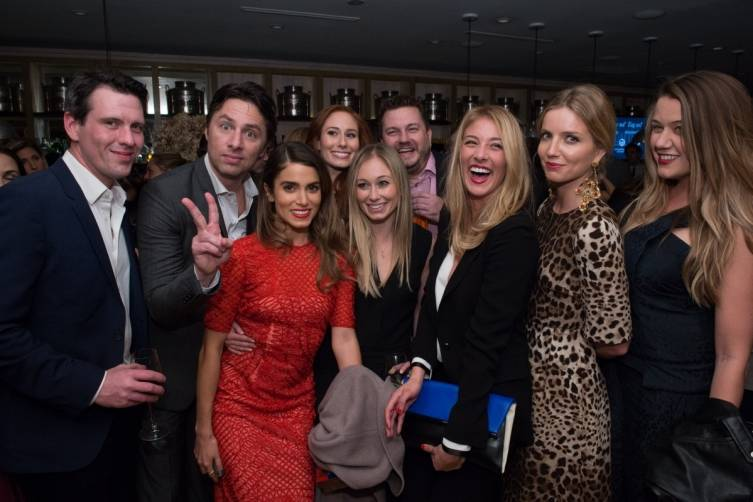 Zac Braff, Nikki Reed and friends