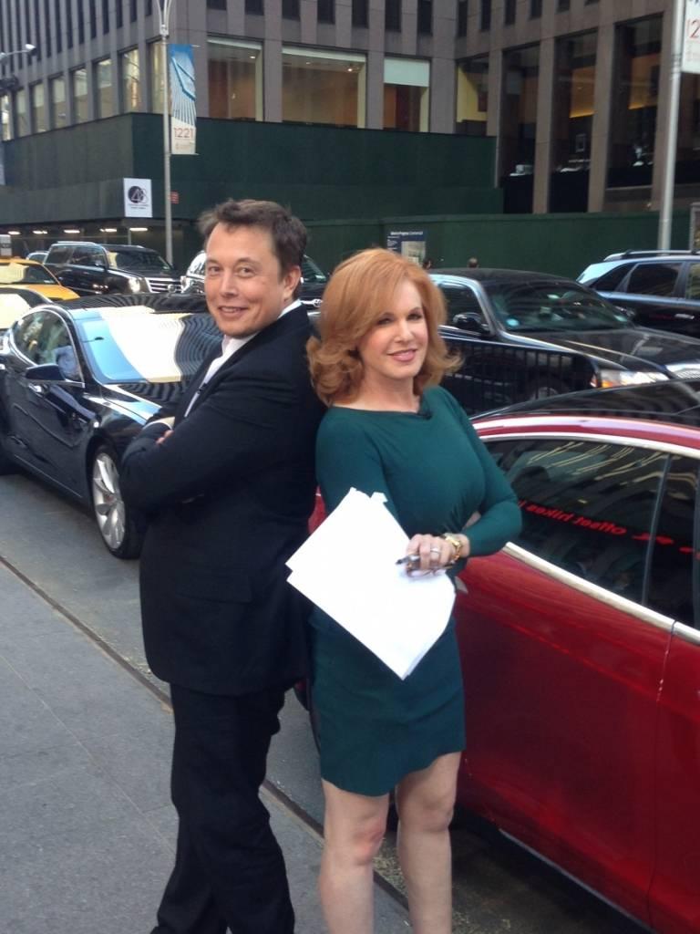 Elon Musk Liz Claman