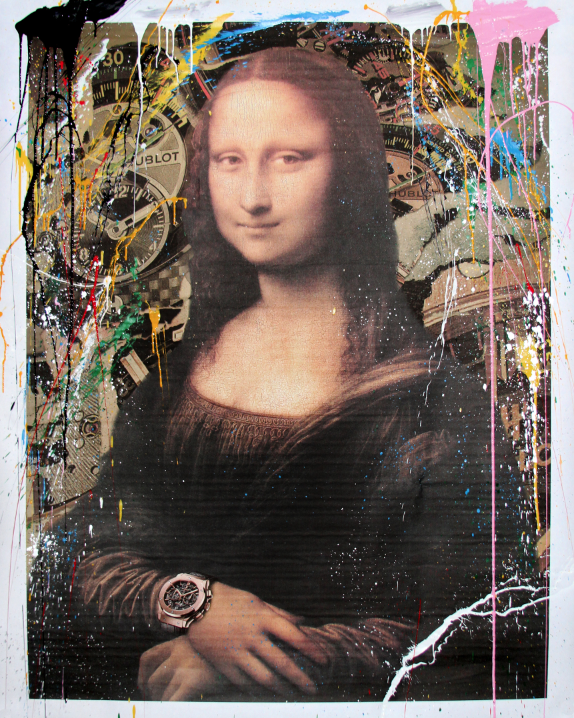 Mona Lisa Hublot by Mr Brainwash