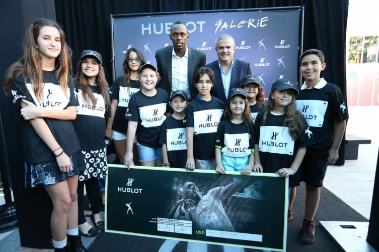 10.Usain Bolt at the Hublot Miami Design District Boutique Opening 2