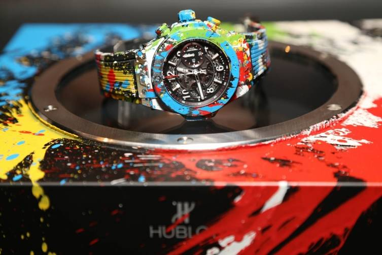 2.HUBLOT Watch by Mr Brainwash