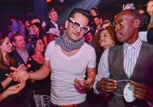 Antonio Esfandiari and Don Cheadle at Marquee. Photo: Karl Larson