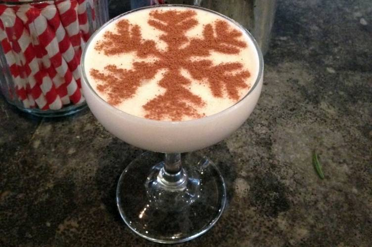 Not Your Madre's Eggnog  at Gracias Madre