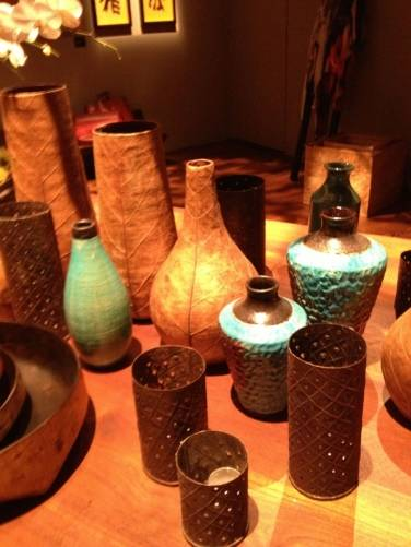 Vases at Urban Zen Holiday Marketplace