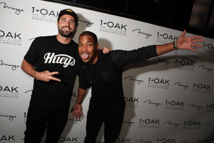 Brody Jenner and William Lifestyle at 1OAK. Photos: Joe Janet