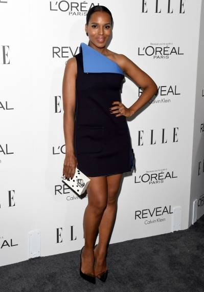 Kerry Washington attends the Elle Women in Film fete