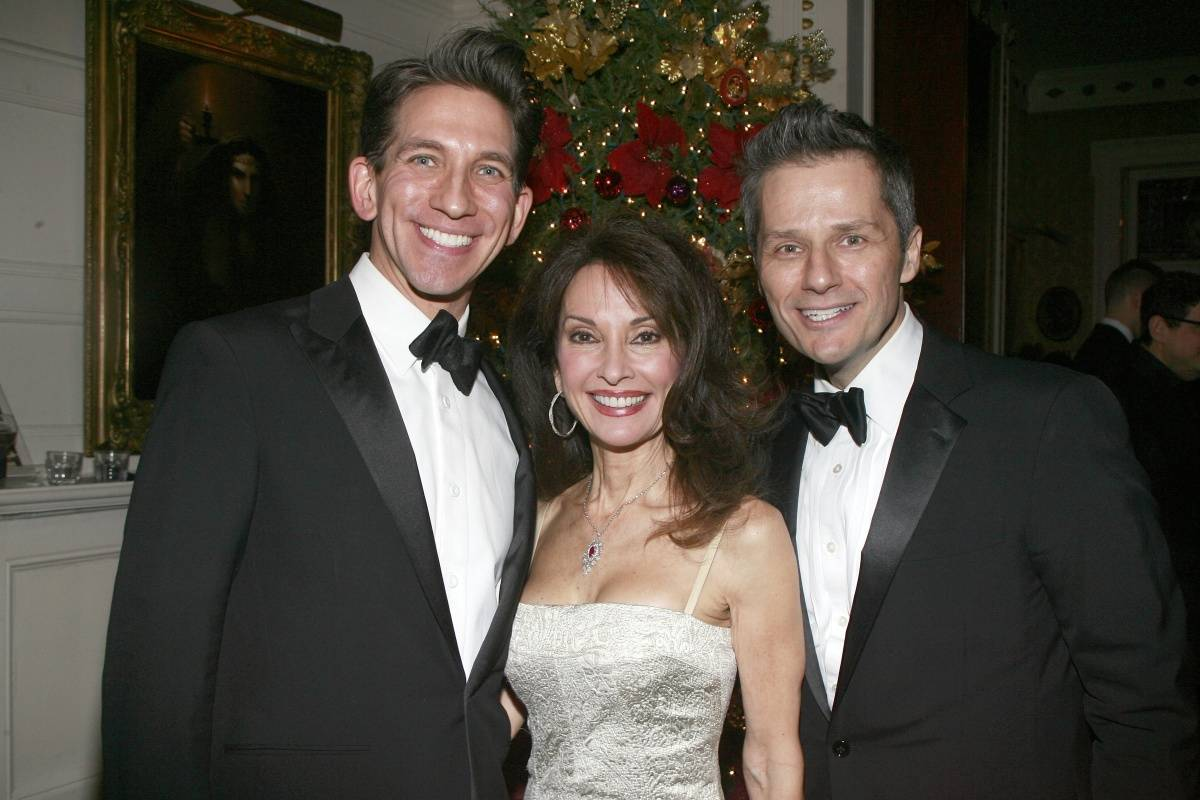 Mickey Conlon, Susan Lucci, and Tom Postilio
