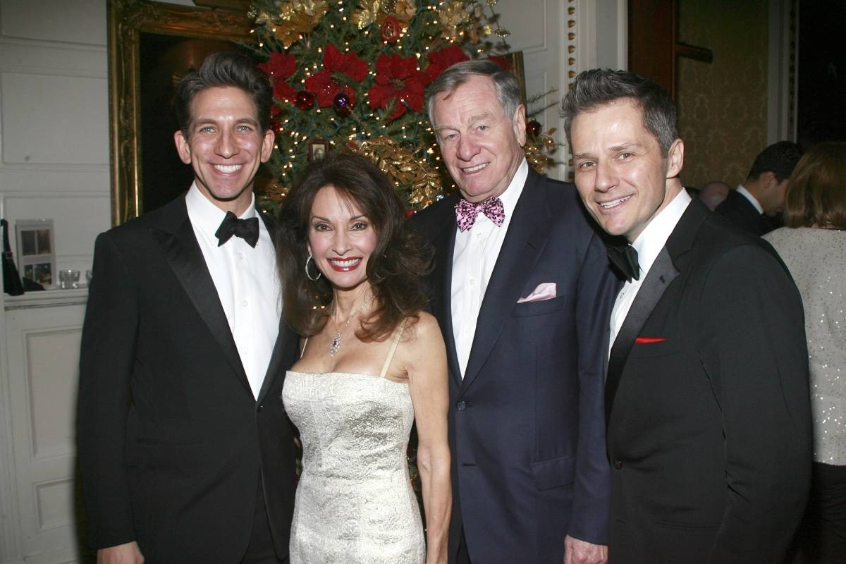 Mickey Conlon, Susan Lucci, Helmut Huber, and Tom Postilio