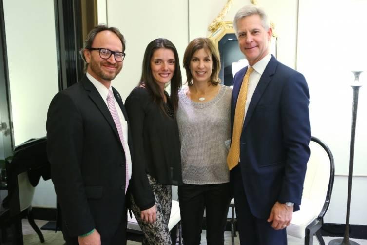 Nelson & Carolina Hincapie, & Jill & Blain Heckaman