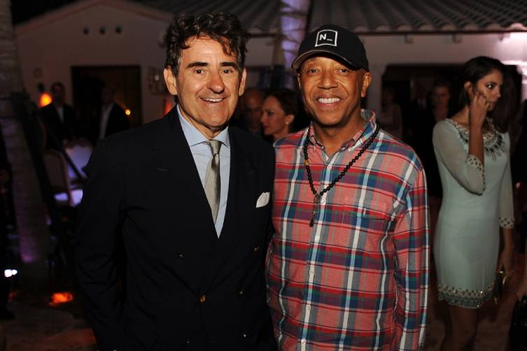 Peter Brant and Russell Simmons