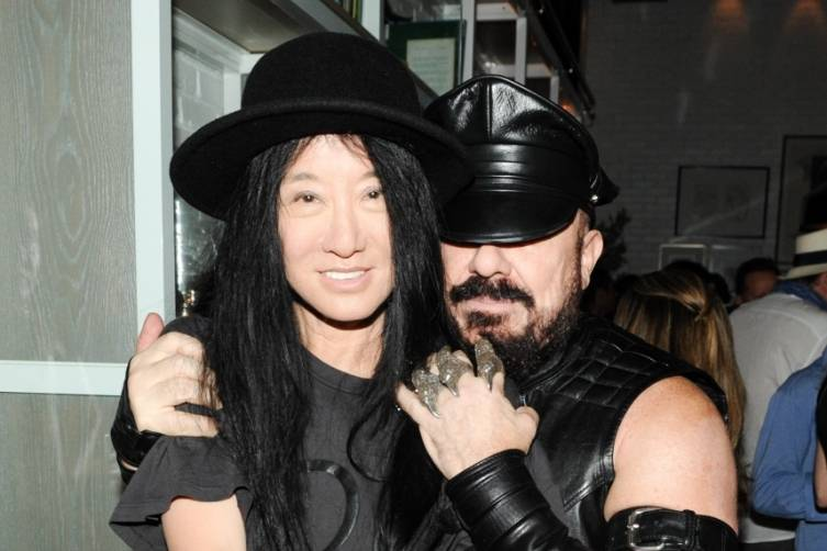 Vera Wang and Peter Marino