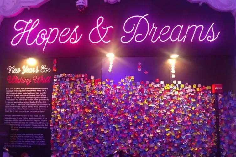 hopes and dreams wall