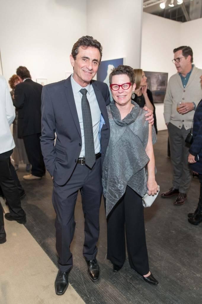 Neal Benezra and Maria Makela