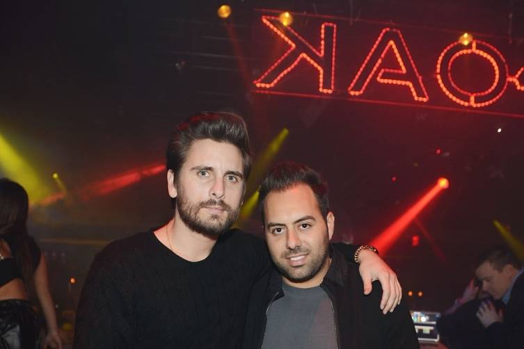Scott Disick at 1 OAK. Photos: Denise Truscello/WireImage