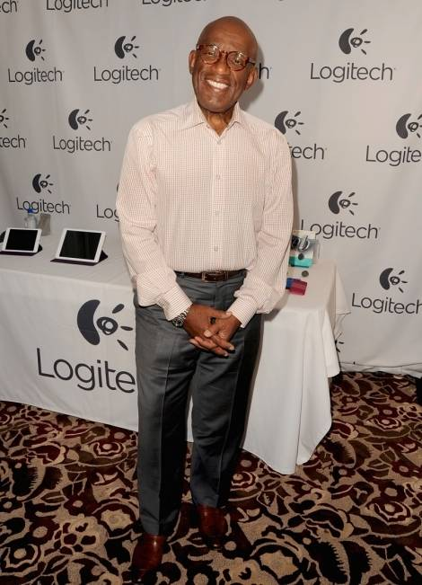 Al Roker at the 2014 HBO Luxury Lounge