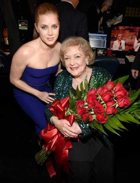 Amy Adams and Betty White
