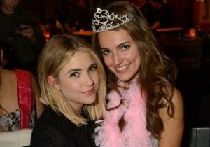 Ashley Benson celebrates the bachelorette party of a friend at TAO Las Vegas
