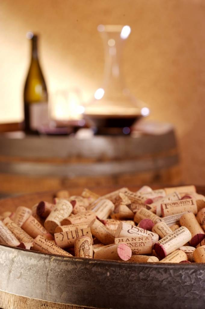 Bottle Shot and Corks