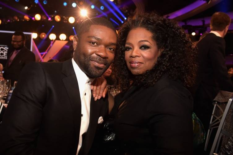 David Oyelowo and Oprah Winfrey
