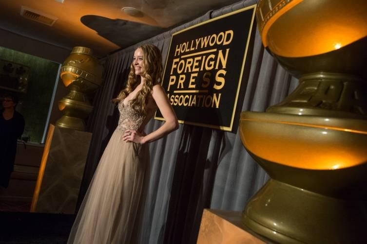 The HFPA celebrates Miss Golden Globe 2015 Greer Grammer