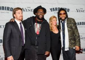 John Kunkel, Questlove, Alison Kunkel and MC Yameen Allworld