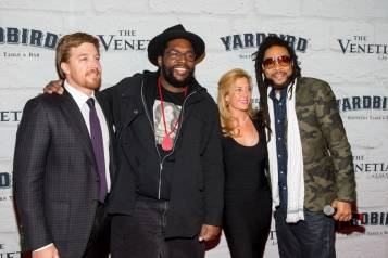 John Kunkel, Questlove, Alison Kunkel and MC Yameen Allworld