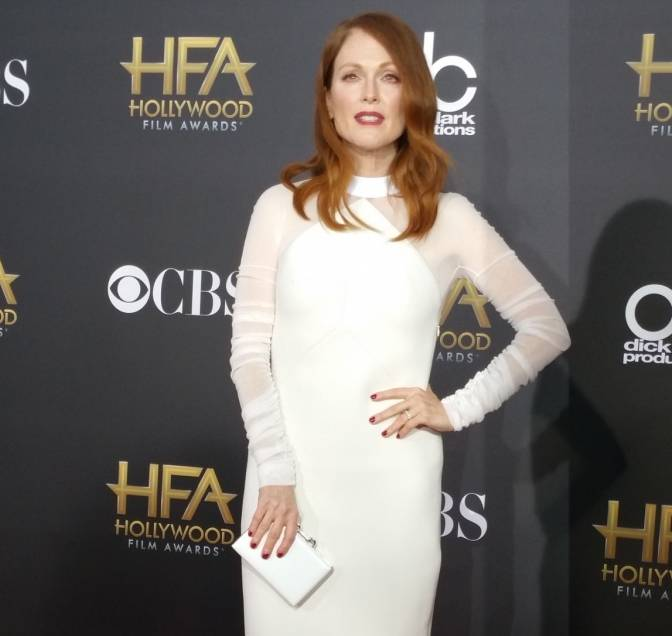 Julianne Moore attends the Hollywood Film Awards
