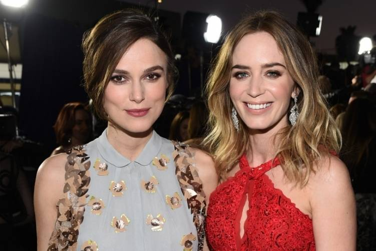 Keira Knightley and Emily Blunt
