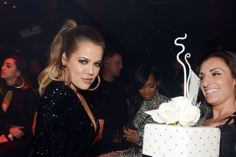 Khloe Kardashian hosts 1 OAK Nightclub at the Mirage. Photos: Denise Truscello/WireImage