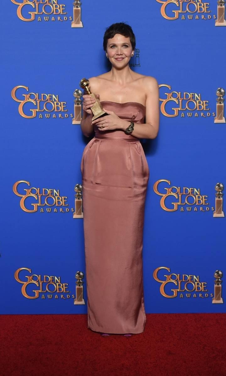 Maggie Gyllenhaal_Miu Miu_72nd Annual Golden Globe Awards_Beverly Hills_11.01.204