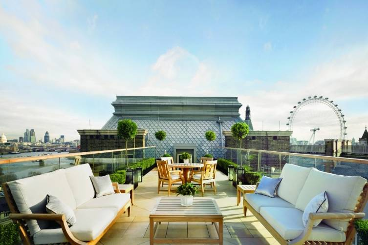 Musicians Penthouse Terrace Corinthia Hotel London