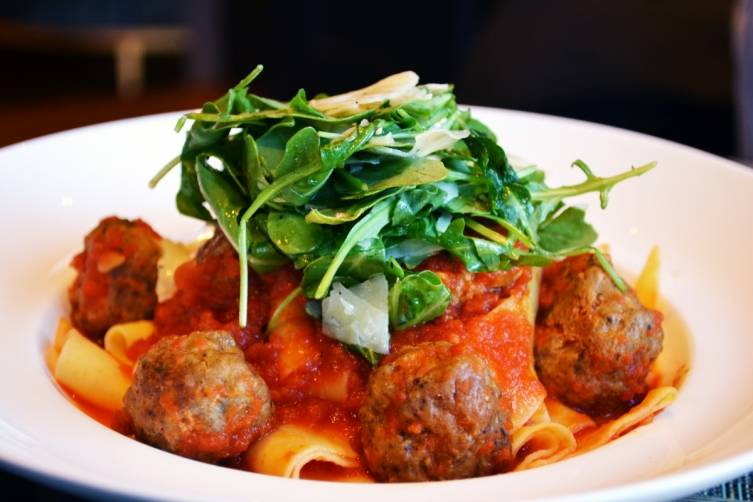 Pappardelle Lamb Meatballs - Bistro Le Sam - K. Tablang
