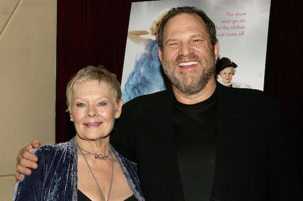 Harvey Weinstein and Judi Dench