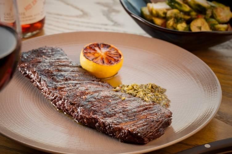 Steak at La Savina