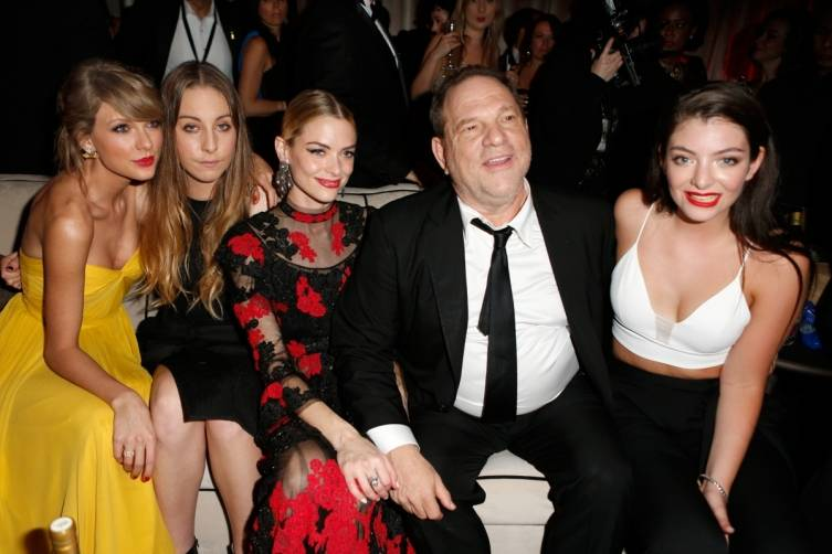 Taylor Swift, Haim, Jaime King, Harvey Weinstein and Lorde