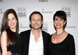 Honorary Co-Chairs and Board members Brittany and Christian Slater by Yamila Lomba