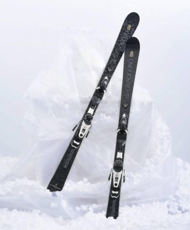 de Grisogono skis by Rossignol
