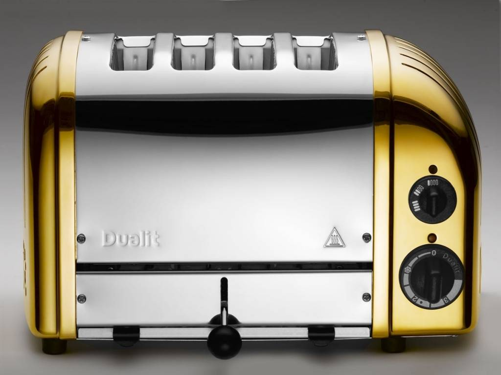 Dualit gold toaster