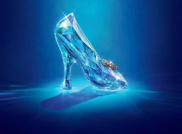 Swarovski Cinderella shoe