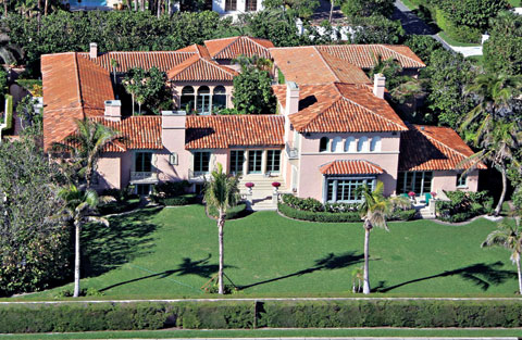 Celebrity Living: Palm Beach - Donald Trump, Ivana Trump, Rush ...