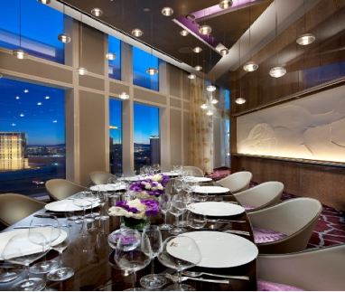 intimate settings haute 5 private dining rooms in las