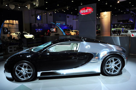 Three Special Editions of the Bugatti Veyron