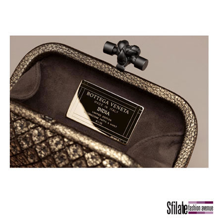 New By Bottega Veneta: The Knot India Clutch