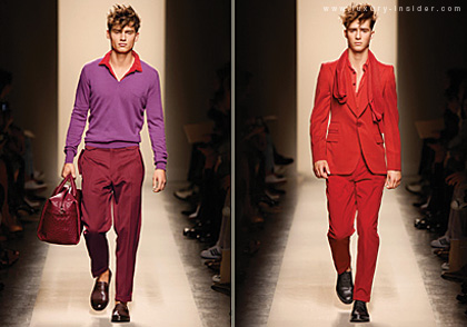 Bottega Veneta's Spring/Summer 2010 Menswear Collection Stuns All